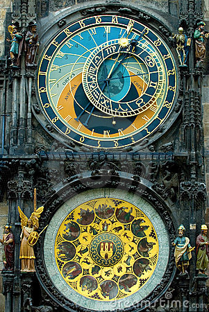 Free Prague Clock Royalty Free Stock Photography - 2967147