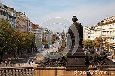 Prague, the Czech Republic Editorial Photography