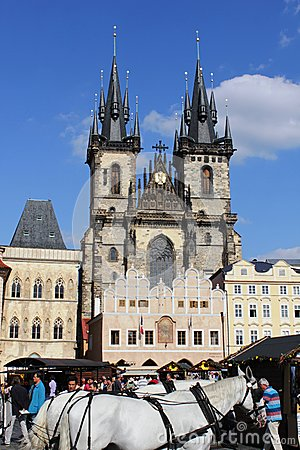 Prague. Czech Republic Editorial Stock Image