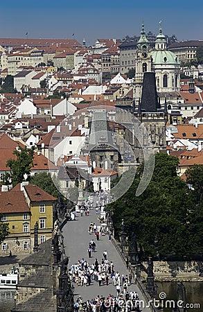 Prague - Czech Republic - Europe Editorial Stock Image