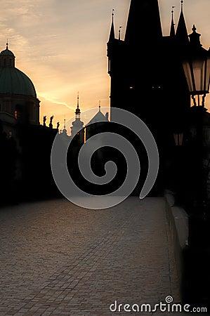 Prague Dawn