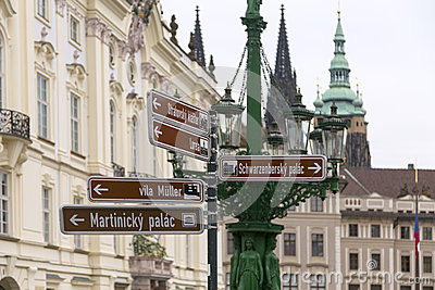 Prague in directions
