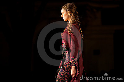 Prague Fashion Weekend on September 24, 2011 in Pr Editorial Stock Photo