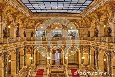 Prague museum Interior