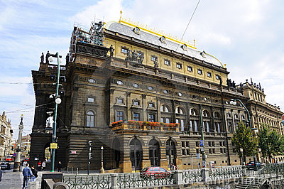 Prague National Opera Theater