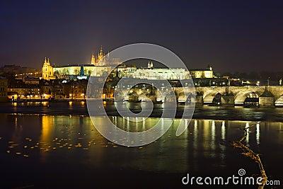 Prague at nigh