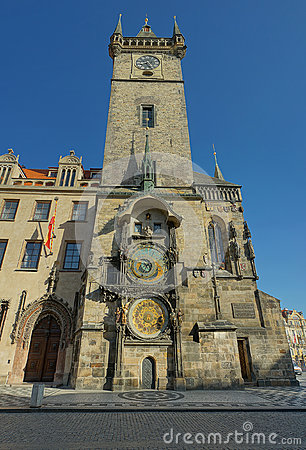 Prague Old City Hall Clock Tower