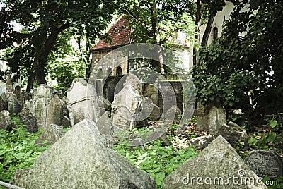 Prague. Old Jewish Cemetery
