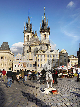 Free Prague, Old Town Square Royalty Free Stock Photo - 86743825