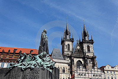 Prague, Old Town Square, Tyn Church