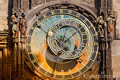 Prague Orloj Astronomical Clock