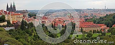 Prague panorama.