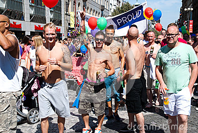 Prague Pride 2012 Editorial Stock Photo