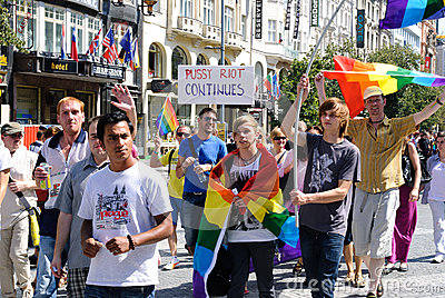 Prague Pride 2012 Editorial Photo