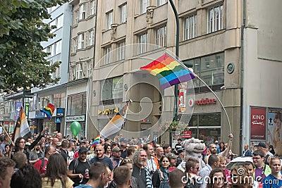 Prague Pride Parade 2011 Editorial Stock Image