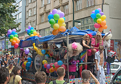 Prague Pride Parade 2011 Editorial Image
