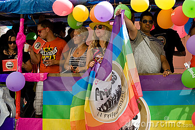 Prague Pride Parade Editorial Stock Photo