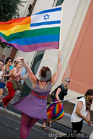 Prague Pride Parade Editorial Image