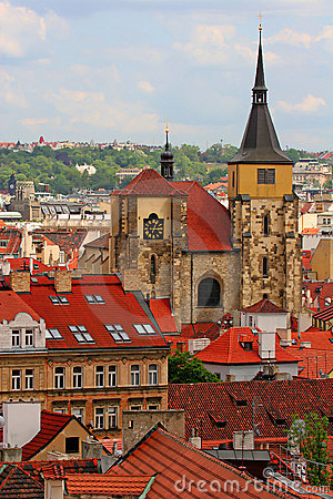Free Prague Rooftops Stock Photo - 2654680