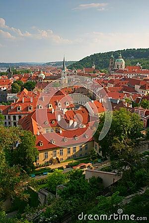 Free Prague Rooftops Stock Photos - 317693