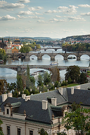 Free Prague S Bridges Stock Images - 11575894