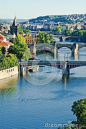 Prague`s briges