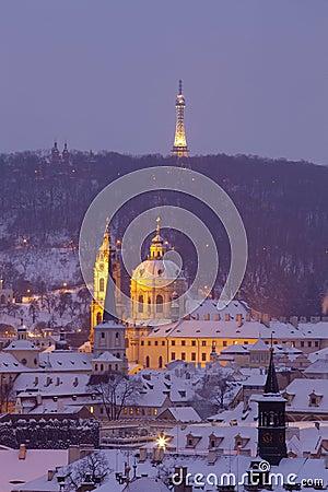 Prague - st. nicolaus church