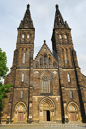 Free Prague. St.Peter And Paul In Vysehrad Royalty Free Stock Photography - 19735457