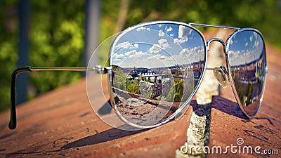 Prague in sunglasses