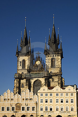 Prague - Tyn church