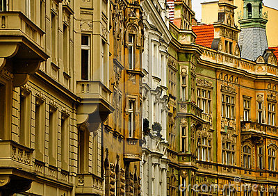 Prague windows