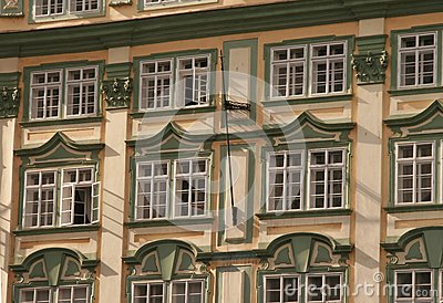 Prague. Windows.