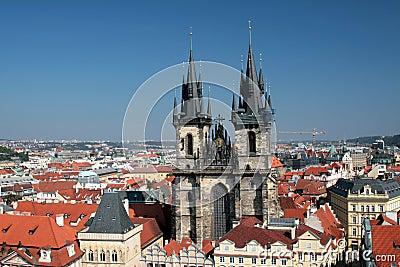 Praha - Prague, the capital city of the Czech Republic