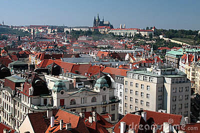 Praha - Prague, Castle in the capital city of the Czech Republic