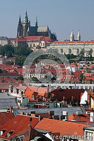 Praha - Prague, castle in the capital city of the Czech Republic