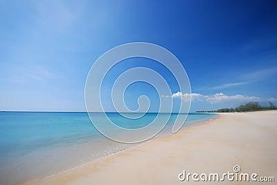 A praia:)