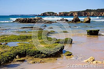 Praia da rocha beach,portugal-algarve