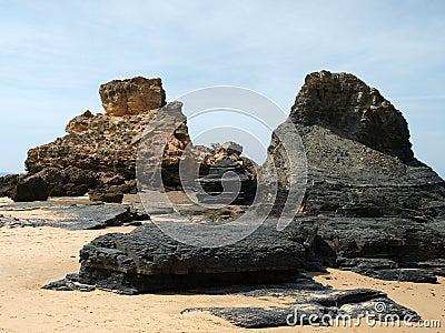 Praia do Castelejo, near Vila Do Bispo, Algarve
