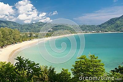 Praia em Tailândia