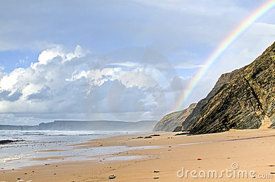 Praia Vale Figuiras in Portugal