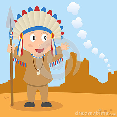 Prairie Indian and Smoke Signal