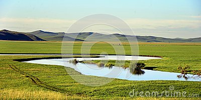 Prairie landscape