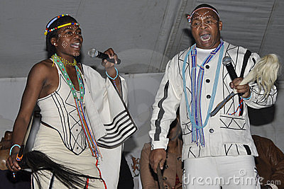 Praise singers Editorial Stock Image