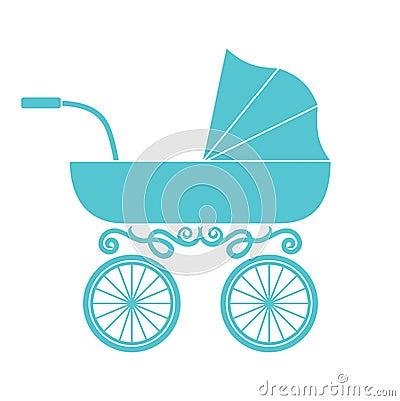 Free Pram - Baby Carriage Stock Photo - 34552600