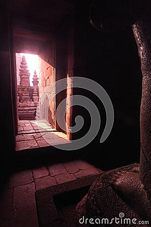 Prambanan Temple Chamber, Java, Indonesia