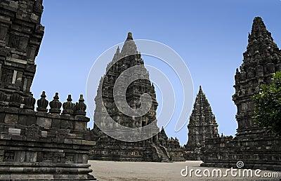 Prambanan temples yogyakarta java indonesia