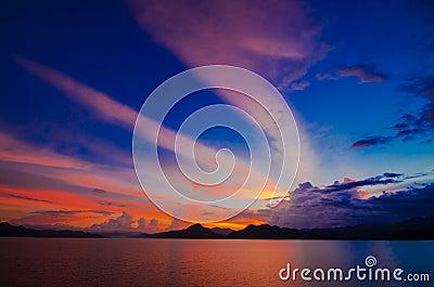 Pranburi dam Thailand