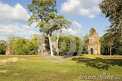 Prasat Suor Prat towers, Angkor
