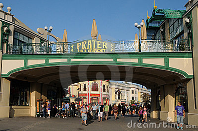 Prater entrance Editorial Stock Image
