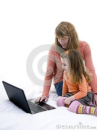 Praticare il surfing della famiglia